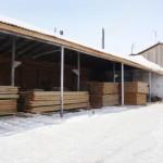 Как хранить древесину для строительства